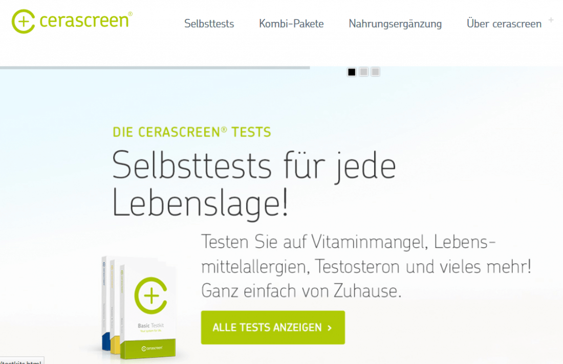 cerascreen SelbstTests
